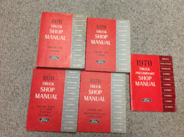 1970 Ford Truck Bronco F-Series Service Shop Repair Manual Set FACTORY O... - $197.99