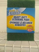 5 Pack  Scrub Buddies Heavy Duty Scouring Pads- scrubbing pads-(one 5 pack) image 4