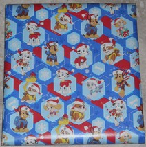 American Greetings Paw Patrol Christmas Wrapping Paper 20 sq ft Roll Kids - $5.50