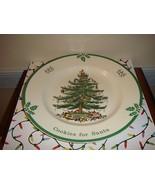 "Spode Cookies For Santa Christmas Tree 10"" Plate - $21.99"