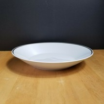 Rosenthal Continental 3455 White with Platinum Trim Coupe Soup Bowl (1) - $10.84