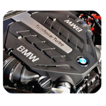 Mouse Pads BMW Engine Elegant Luxury Sport Car Design Fantasy Anime Mousepads - $6.00