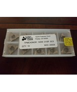 SOUTHERN CALIFORNIA CARBIDE INSERTS TPMC43NGR.140W.015R SC5 Qty10 - $46.53
