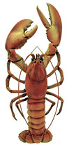 "Red Lobster - Lobster Statue Height: 20.5""  - $48.33"