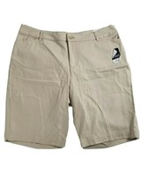 St. John's Bay Women's Bermuda Mid-Rise Shorts Tan Size 18W Slender New NWT - $9.65