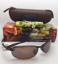MAUI JIM Sunglasses MAKAHA MJ H 405-10 Tortoise Frames w/Polarized Bronze Lenses - $189.00