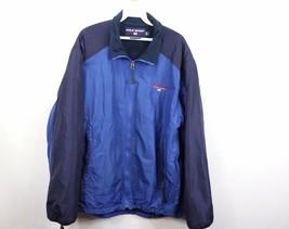 Vtg 90s Polo Sport Ralph Lauren Mens Large Spell Out Jacket Fleece Lined... - $86.38
