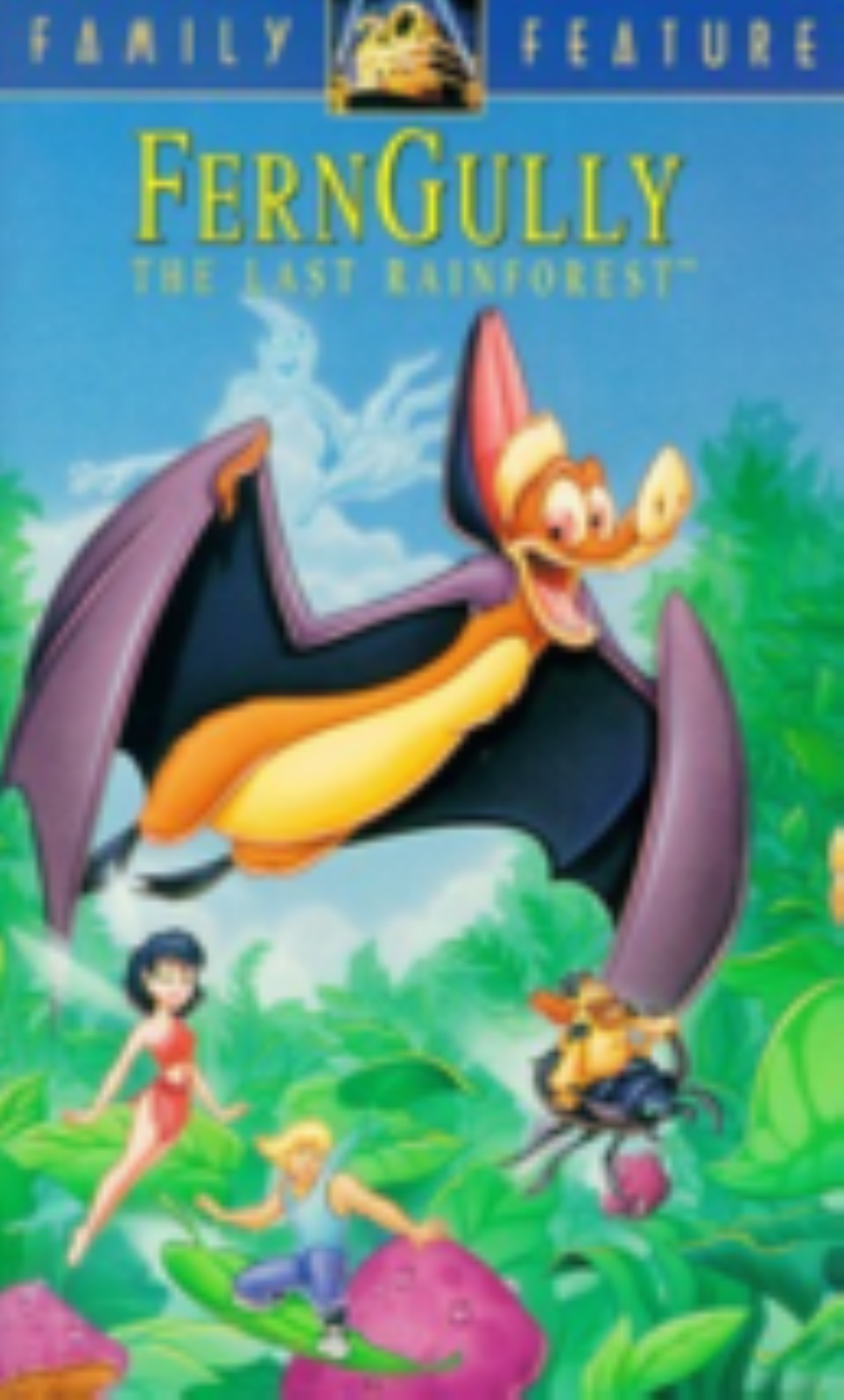 FernGully - The Last Rainforest Vhs