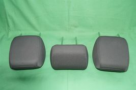 10-13 Kia Soul Rear Back Cloth 3 Headrests Headrest Set image 5