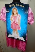 Halloween Costume Pretty Princess Dress Pink X Lg 4 To 6 42 lbs Fun World 122T - $19.49