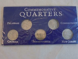 1999 COMMEMORATIVE QUARTER SET 5 Pcs 1999 First 5 US States - $6.92