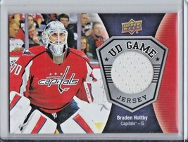 2016-17 Upper Deck Braden Holtby Capitals game jersey Group G Odds 1:98 - $1.88