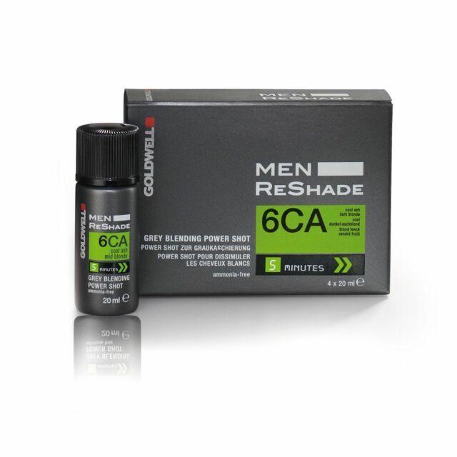 Goldwell USA Men ReShade - Gray Blending 6CA Cool Ash Dark Brown  ( 4 X 20ml )