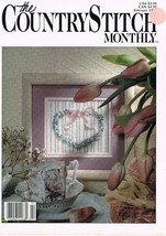 Country Stitch Monthly Journal of Cross Stitch Designs Back Issue Feb 1989 - $6.00