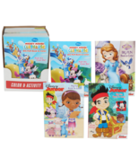 Disney Jr Coloring & Activity Book -- Set of 2 Books - $9.99