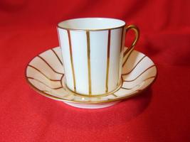 "2"", Flat Demitasse Cup & Saucer, Royal Cauldon, N 637, Wells-Burrage Co. Boston  - $13.99"