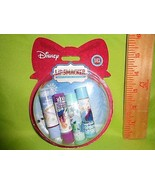 LIP SMACKER 4pc Gift Set Snow Globe Oranment Disney Frozen Olaf lip Balm... - $9.79
