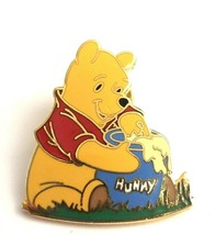 2000 WDW Disney Winnie The Poo Honey Pot Gold Tone Enamel Lapel Pin Collectible - $19.50