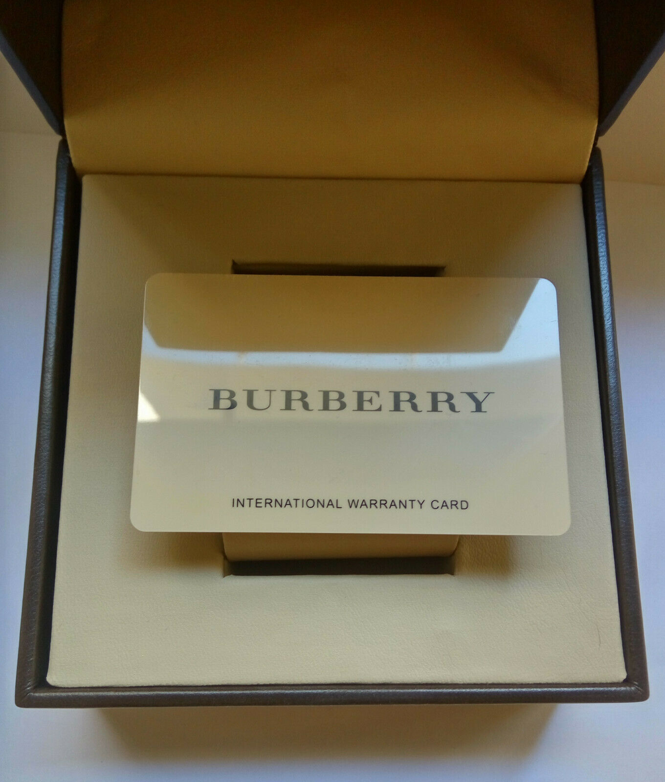 Burberry watch case box  image 6