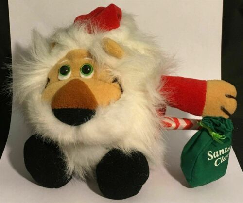 "Primary image for 6""  Dakin ""Santa Claws"" Lion Dressed in Santa Claus Outfit Small Plush"