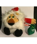 "6""  Dakin ""Santa Claws"" Lion Dressed in Santa Claus Outfit Small Plush - $10.15"