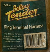 Deltran 08100696 Battery Tender Ring Terminal Harness Quick Disconnect image 5
