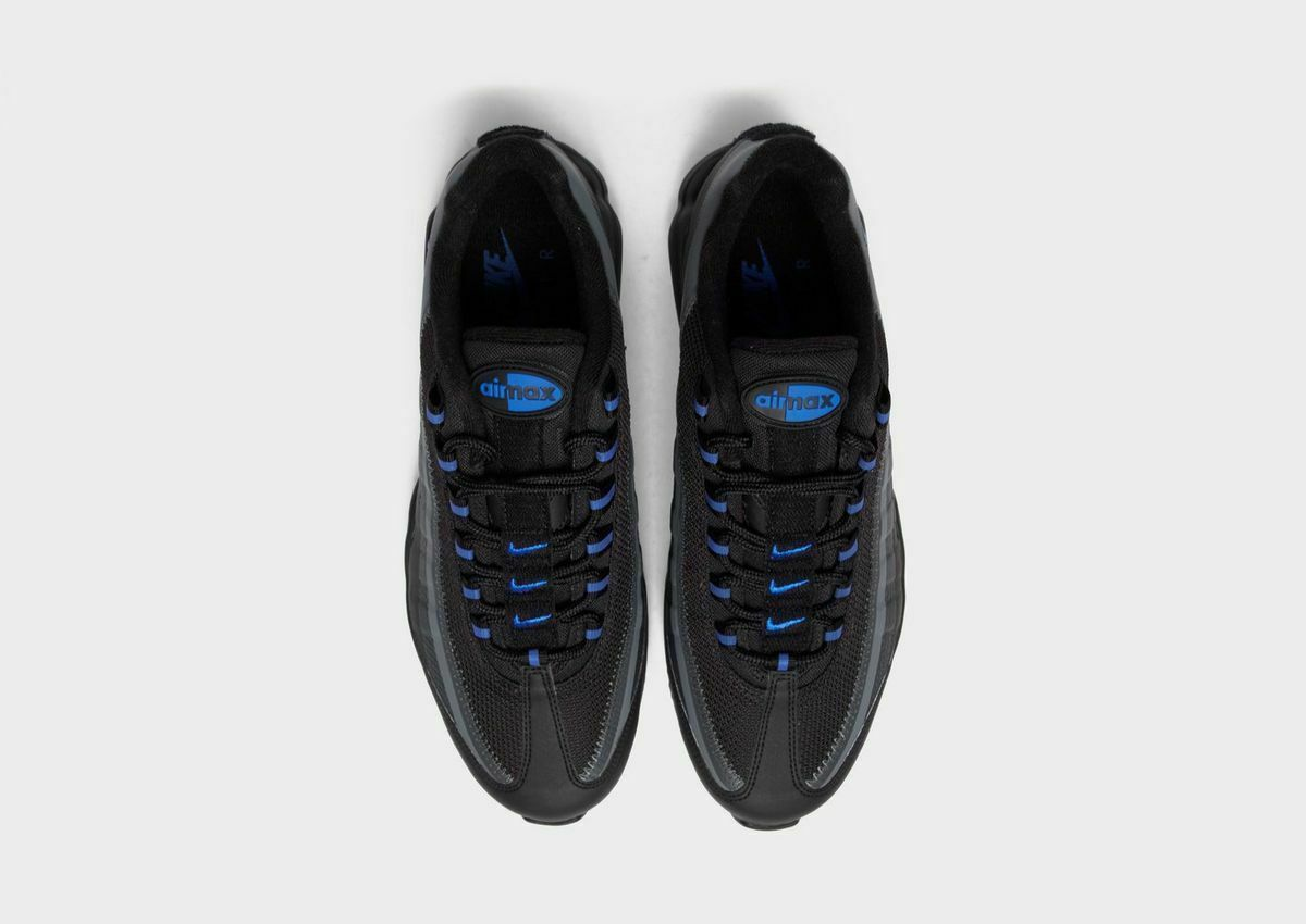Nike Air Max 95 Ultra Se Black / Grey /Blue Premium Trainers / Shoes image 6