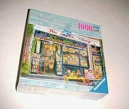 Ravensburger Puzzle The Book Shop 1000 Pieces Aimee Stewart 2017 New - $24.74