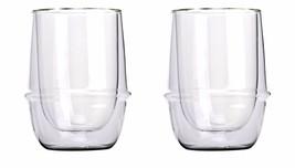 Set of 2 Double-Walled Kinto KRONOS 350 ml Iced Tea Glasses - $43.55