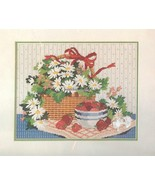 BASKET OF DAISIES Needlepoint Kit Vintage Dimensions #2309 Karen Avery D... - $32.47