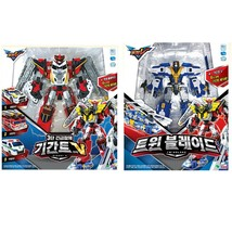 Tobot Gigant Saver Tobot Gigant V Tobot Twin Blade Action Figure Set (2 Counts)