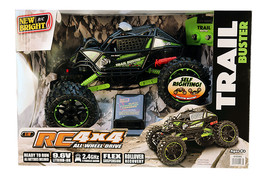New Bright RC TRAIL BUSTER 4x4 RADIO CONTROL TOY CAR 1:10 SCALE Off Road... - $760,52 MXN