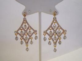 """Joan Rivers Elegant Evening Chandelier Earrings  2-1/4"""" Long - $26.30"""
