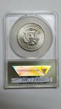 RARE 1975S Token Dan Carr Silver Kennedy Half Dollar Struck on Real Coin MS69 image 2