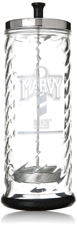 Marvy No. 8 Glass Sanitizing Jar, 48oz Capacity