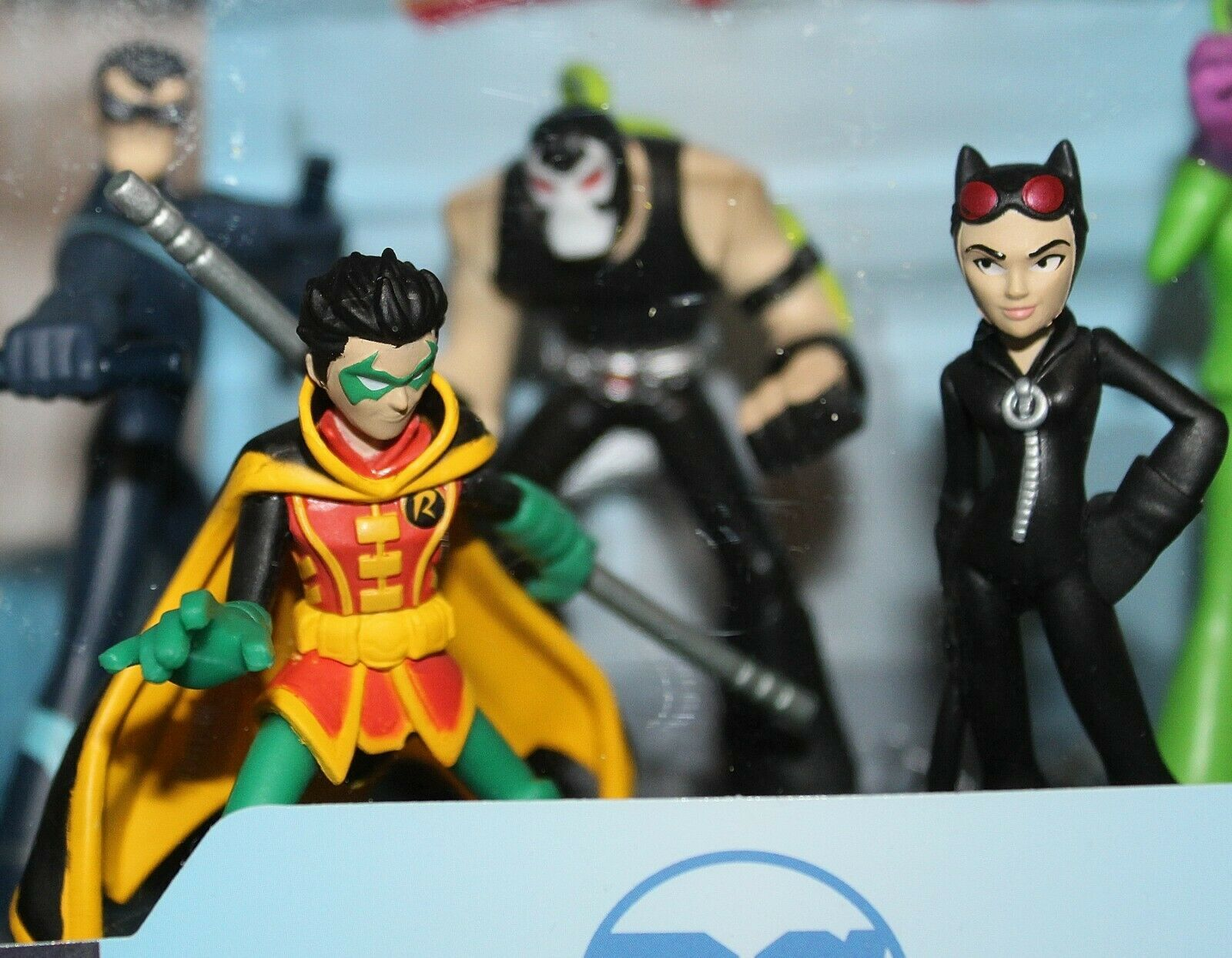 Nuevo Funko Héroe Mundo Dc Comics Serie 8 Figuras Robin Catwoman Bane Nightwing