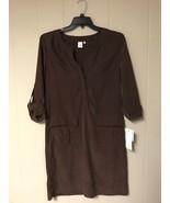 Jones New York Women Dress Earth Brown Size US M - $32.00