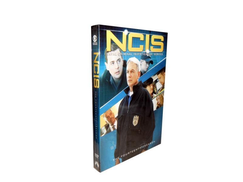 NCIS The Complete Season 14 DVD Box Set 6 Disc Free Shipping Brand New