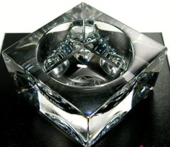 Montblanc Crystal Bowl for Paper Clip Mont Blanc for Collector or Lover - $169.53