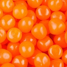 Orange Fruit Sours Chewy Candy Balls, 1LB - Free Shipping - $12.51
