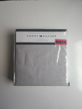 Tommy Hilfiger Grey QUEEN Sheet Set 4pc 100% Cotton Percale New - $54.40