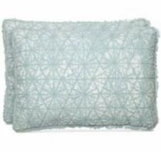 Martha Stewart Whim Collection Beach-Washed Standard Blue 1 Pillow Sham - $11.40
