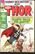 JOURNEY INTO MYSTERY#104 THOR Marvel Comics 1964 Silver Age JACK KIRBY S... - $82.00
