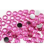11mm SS48 Pink Hot .NAP01 Acrylic Rhinestones - 60 PCS - $3.97