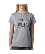 7 Rings AG Women T-shirt Tee SPORT GREY - $18.00