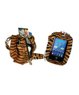 PURSE PLUS TOUCH CHARM14 CELL PHONE CASE TIGER Touch-Screen Phones Free ... - $17.95
