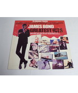 James Bond Greatest Hits ORIGINAL Vintage Vinyl LP Record Album - $18.49