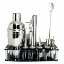 Cocktail Shaker Mixer Kit Bar Bartender Set Shaker Glaçon Tong With Wine... - $23.23+
