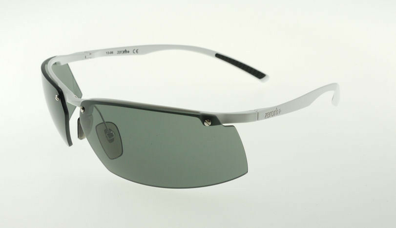 Primary image for ZERORH+ ANGELFISH White / Green Sunglasses RH774-01 CARL ZEISS