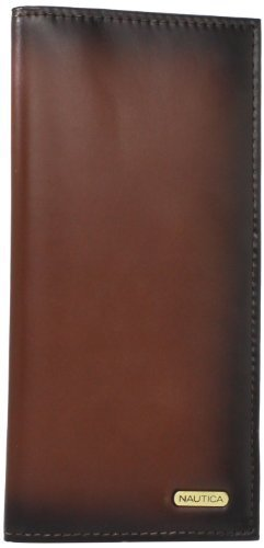Nautica Men's Checkbook Secretary,Tan,One Size